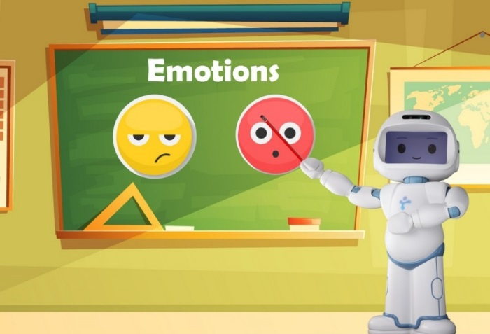 QTrobot curriculum for teaching emotions to children with autism