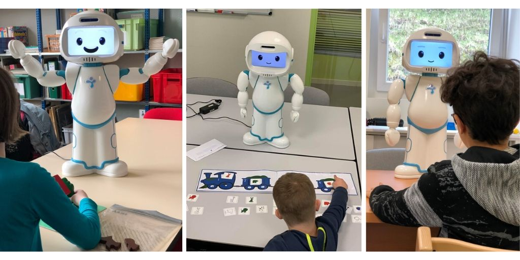 Speech therapy for 20 students with autism spectrum disorder with QTrobot – a 6 months case study