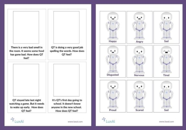 Download the free activity cards for helping children with autism to understand emotions