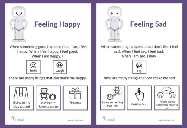 Download the social narrative for helping children with autism to understand emotions