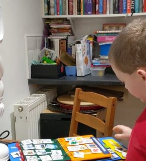 QTrobot teaches new skills to children with autism at home