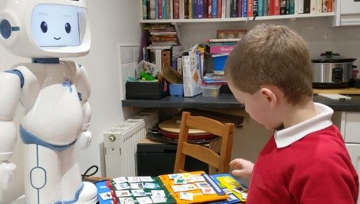 how to teach my autistic child at home using QTrobot